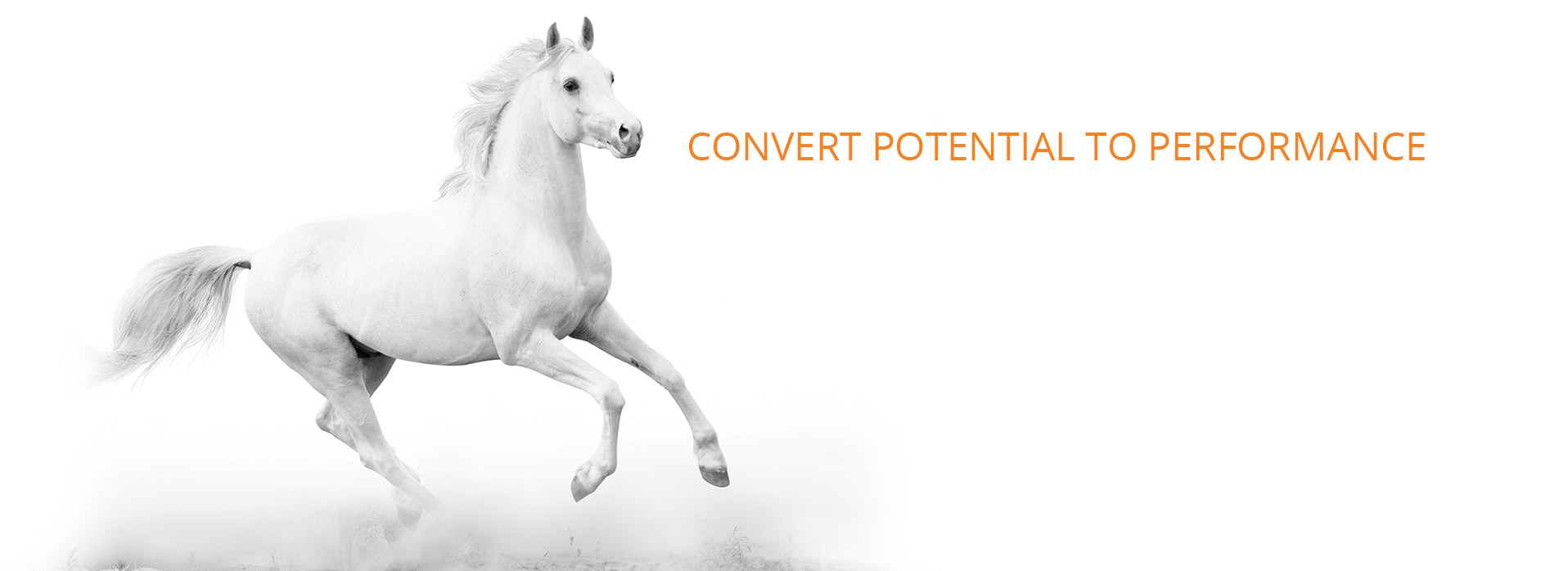 CONVERT POTENTIAL TO PERFORMANCE